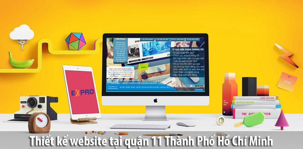 Thiết kế web tại Quận 11 TPHCM