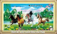 Thiết kế web tranh thiêu chữ thập