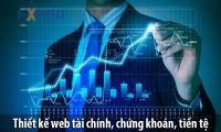 Thiết kế web tài chính, chứng khoán, tiền tệ