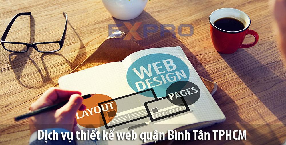 Thiết kế web tại Quận Bình Tân Thành Phố Hồ Chí Minh