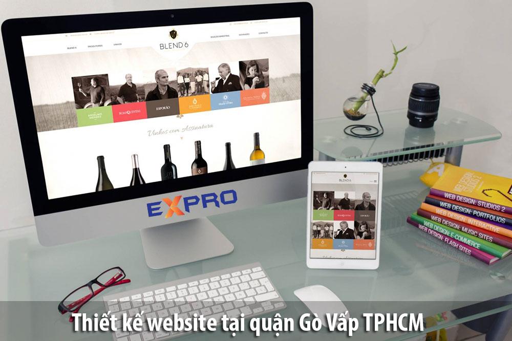 Thiết kế web tại Quận Gò Vấp TPHCM