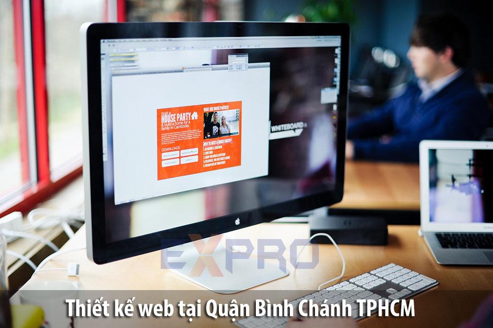 Thiết kế web tại Huyện Bình Chánh Thành Phố Hồ Chí Minh