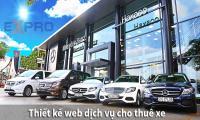 Thiết kế web cho thuê xe