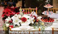 Thiết kế web dịch vụ cưới hỏi