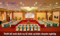 Thiết kế web tổ chức sự kiện event