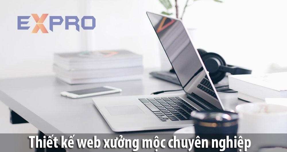 thiết kế website xưởng mộc