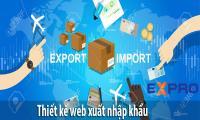 Thiết kế web dịch vụ xuất nhập khẩu