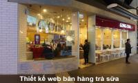 Thiết kế web cửa hàng bán trà sữa