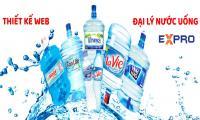 Thiết kế web đại lý nước uống chuyên nghiệp