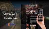 Thiết kế website xem phim online không giật chất lượng