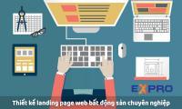 Thiết kế landing page cho lĩnh vực bất động sản chuyên nghiệp