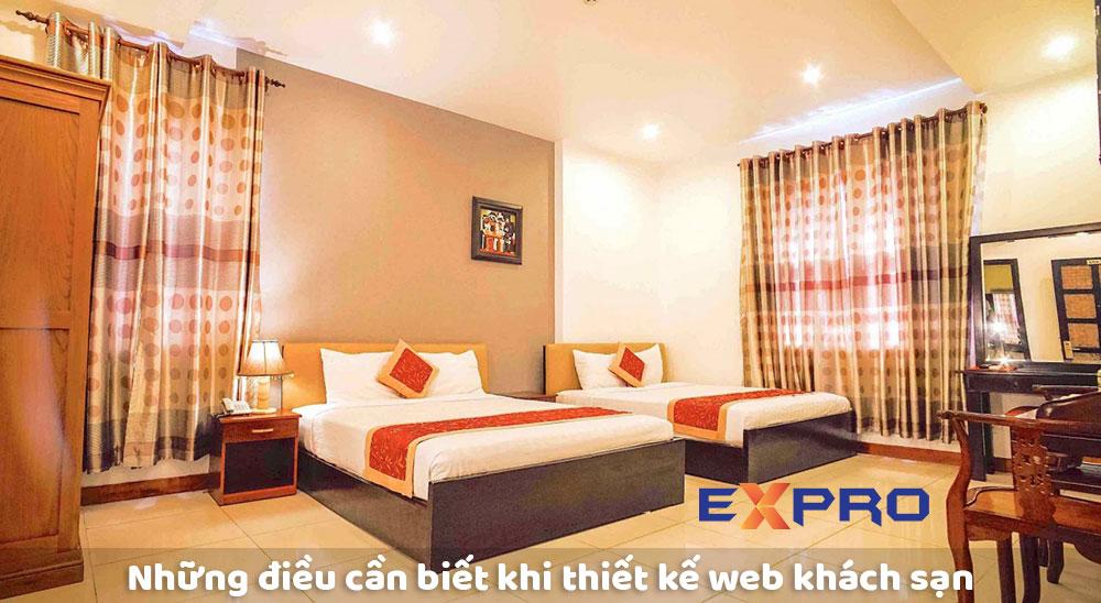 Những lưu ý khi thiết kế web khách sạn bạn cần biết