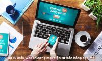 Top 10 mẫu website thương mại điện tử đẹp