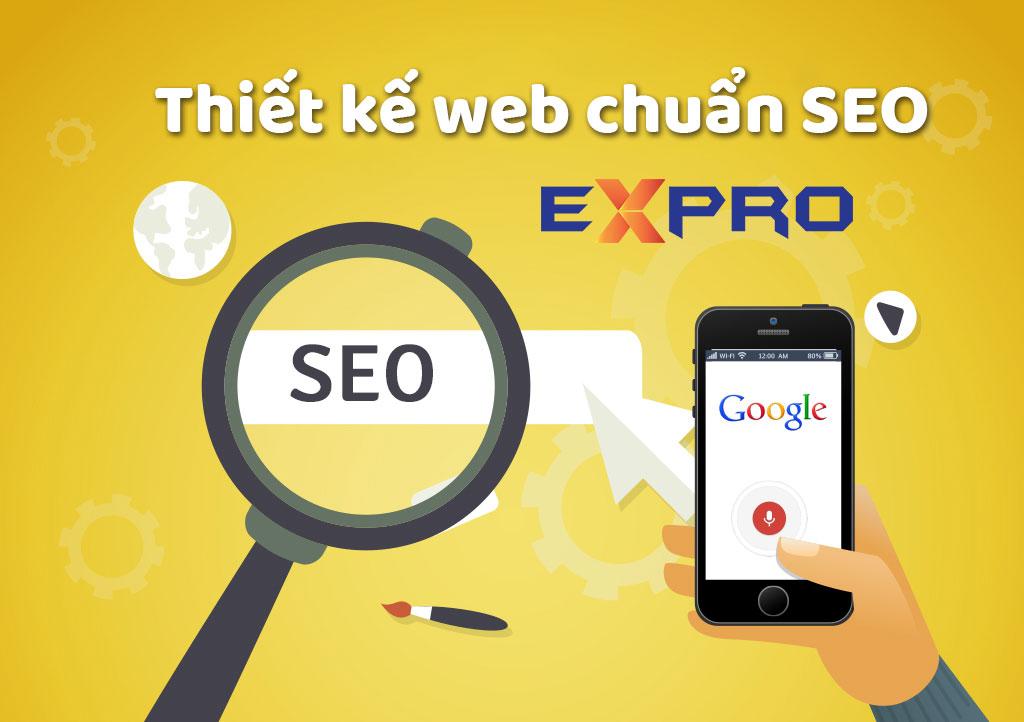 Thiết kế web chuẩn SEO giải pháp dễ dàng lên top Google