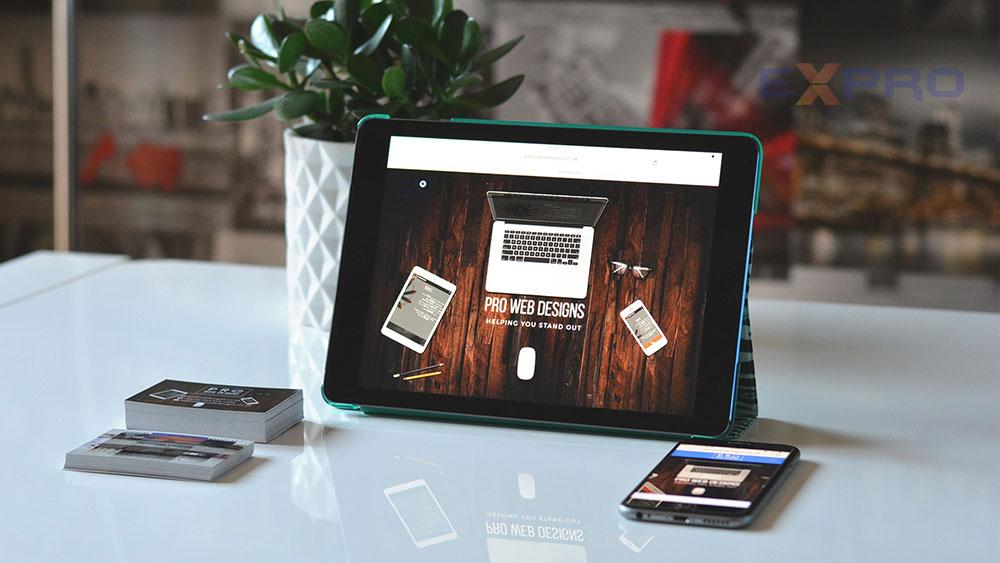 Thiết kế web chất lượng cao tại Expro Việt Nam