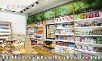 Thiết kế website bán hàng thực phẩm chức năng