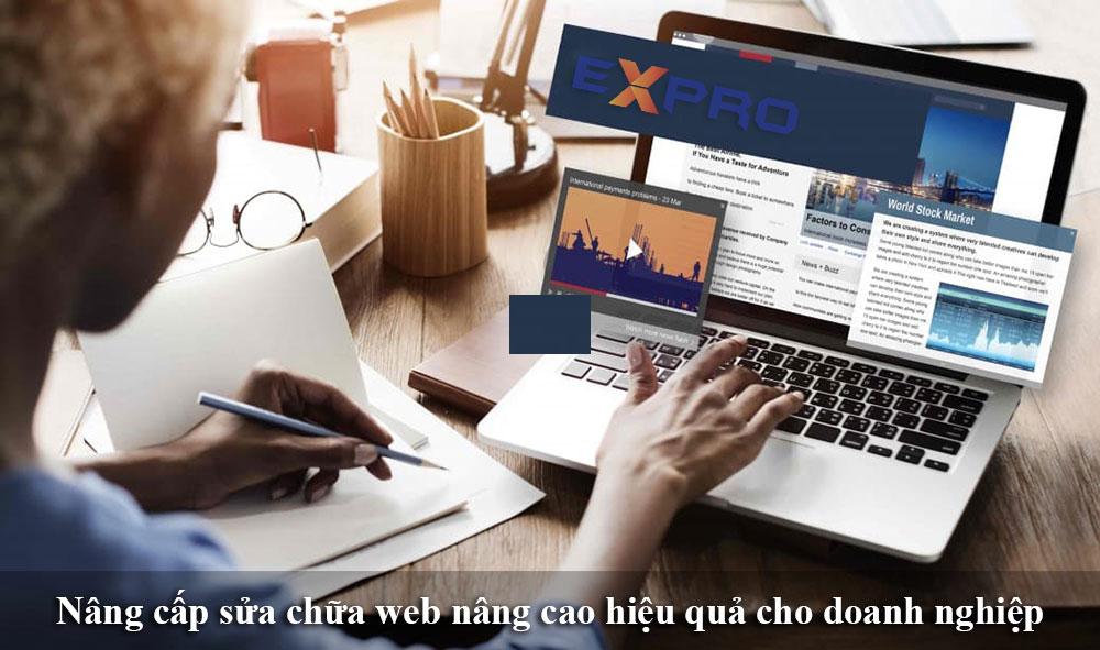 Thiết kế lại website nâng cao hiệu quả kinh doanh của doanh nghiệp