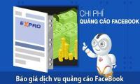 Báo giá dịch vụ chạy quảng cáo facebook