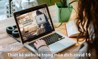 thiết kế web trong mùa dịch covid 19