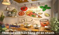 Thiết kế website bán đồ ăn vặt - đồ ăn nhanh