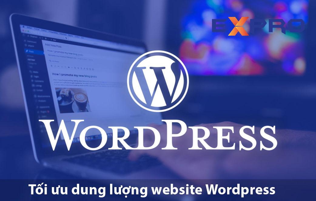 tiết kiệm dung lượng tối ưu trên website wordPress