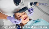 Thiết kế web nha khoa chuyên nghiệp