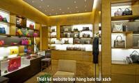 Thiết kế website bán hàng balo túi xách uy tín