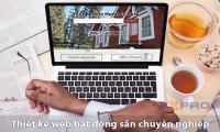Đơn vị nào thiết kế website bất động sản