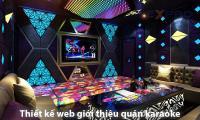 Thiết kế website quán karaoke