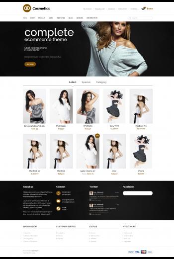 Mẫu web bán hàng thời trang