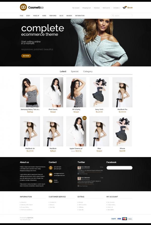 web bán hàng thời trang Complete