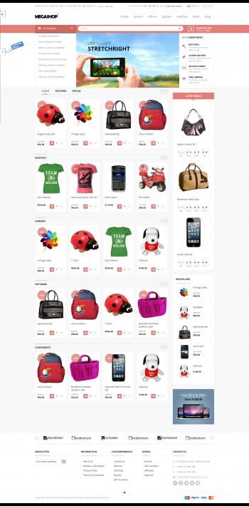 Mẫu web thương mại điện tử