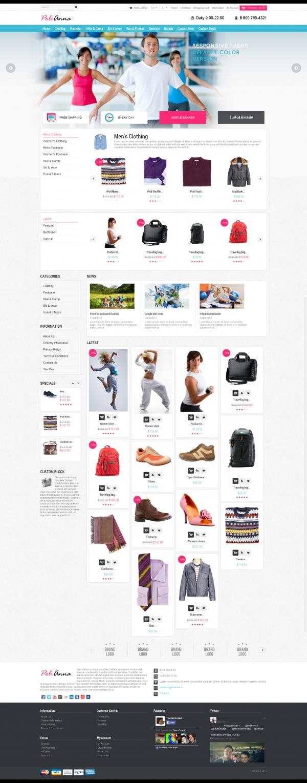 Mẫu web bán hàng Megashop