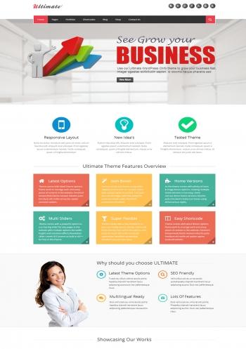 Web giới thiệu công ty Ultimate