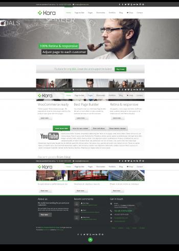 Mẫu web giới thiệu công ty, bán hàng chuyên nghiệp