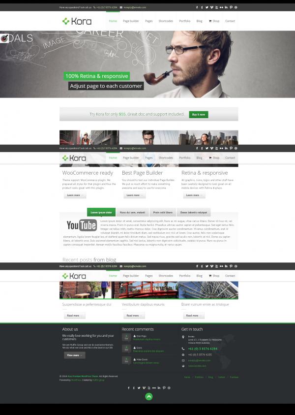 Thiết kế web giới thiệu công ty, bán hàng