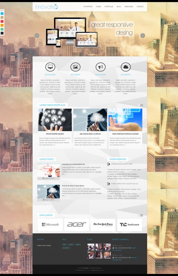 thiết kế web giới thiệu công ty bán hàng