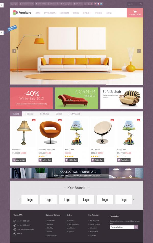 Thiết kế website bán hàng nội thất chuyên nghiệp